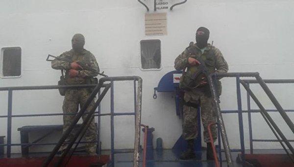 Украинские моряки намолдавском судне переправлялись вКрым